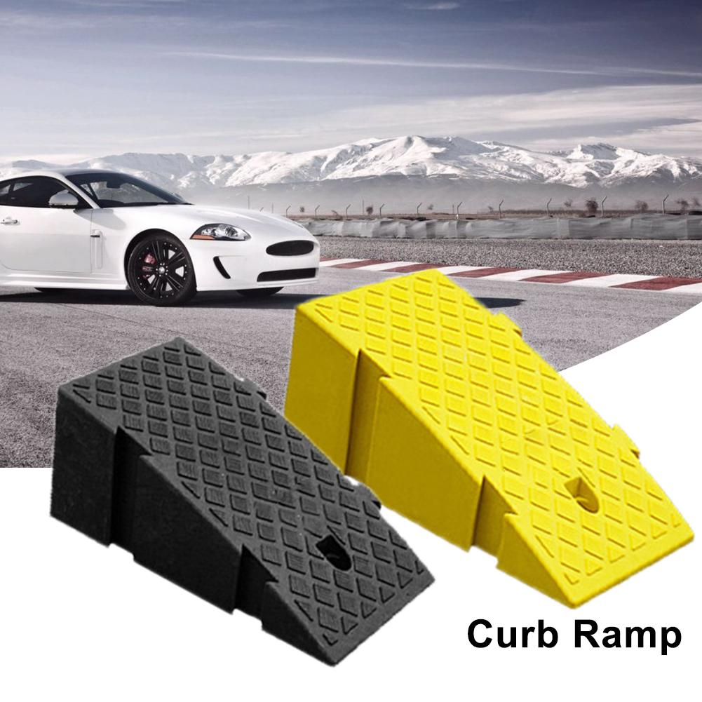 Conjunto de rampa de limite de plástico duro quente rampas de freio rampa de limiar resistente portátil para scooter de caminhão de carro para motocicleta de bicicleta de carro