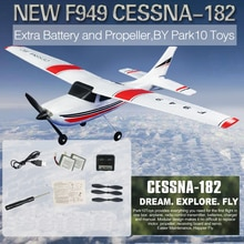 WLtoys F949 2.4G 3Ch RC avion aile fixe avion jouets de plein air Drone RTF mise à jour version servo hélice numérique, paquet fort