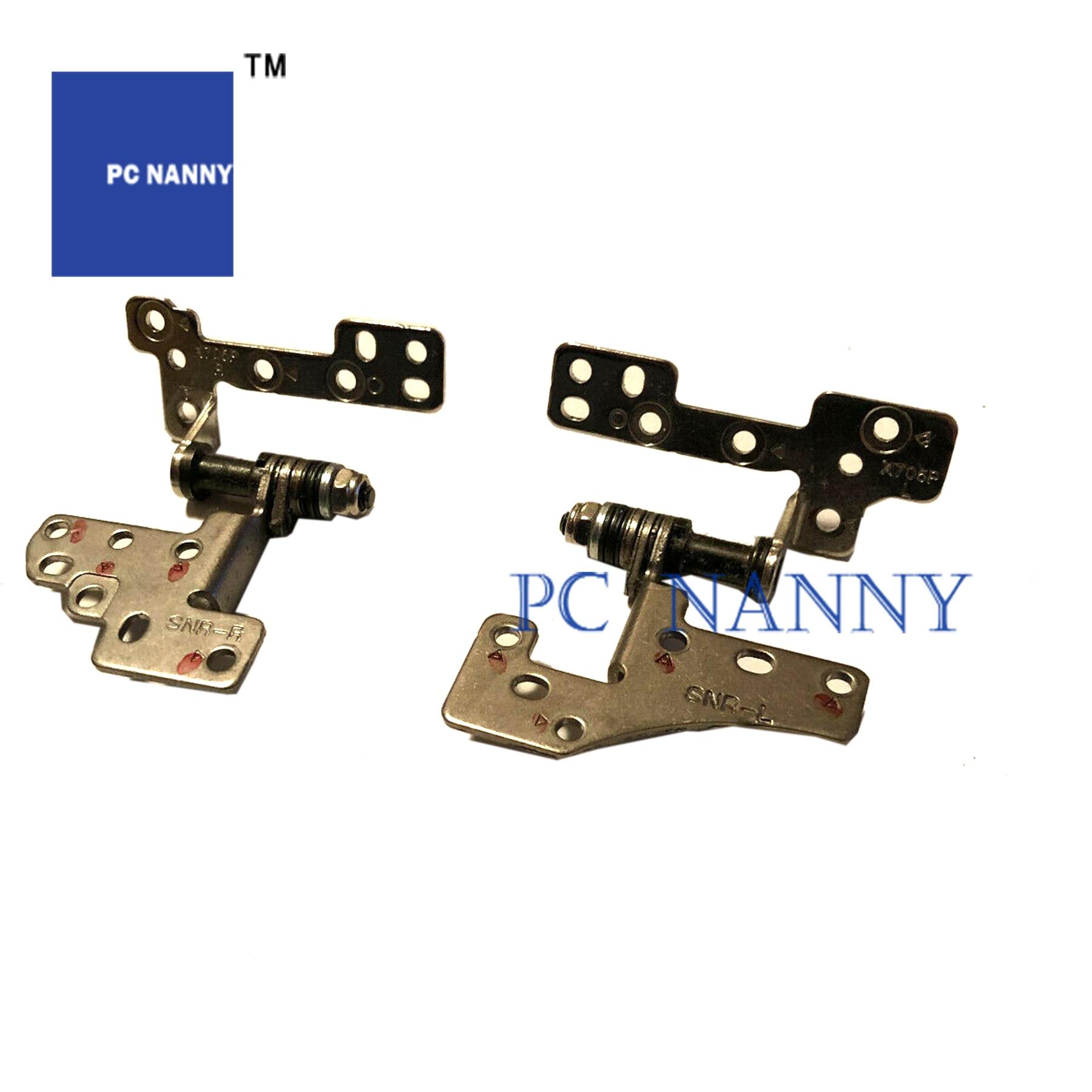 Bisagras de pantalla PCNANNY para ASUS Vivobook 17 X705M X705 prueba izquierda y derecha buena