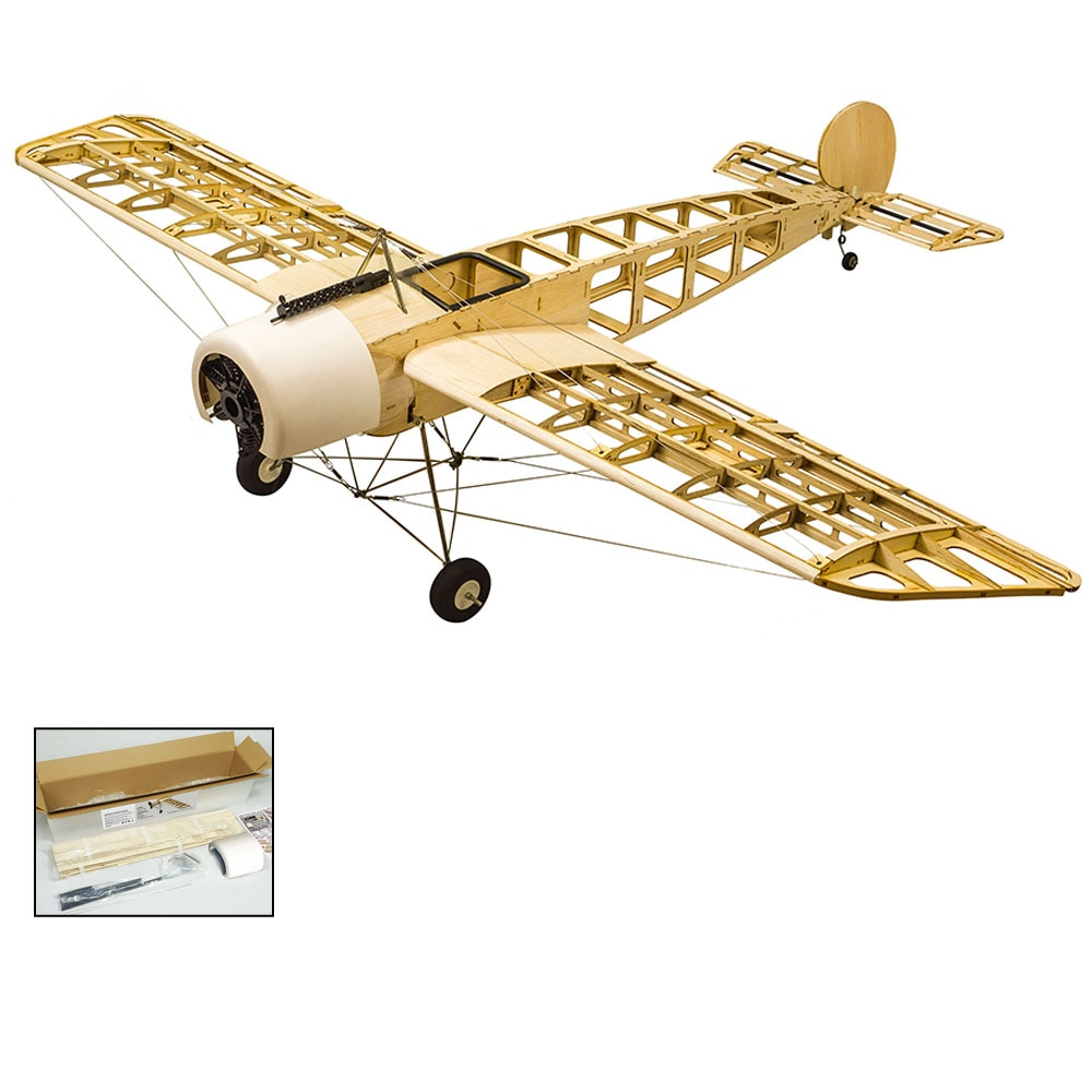 Радиоуправляемый самолёт Balsa Wood 1520 мм разборная модель самолета с электрическим