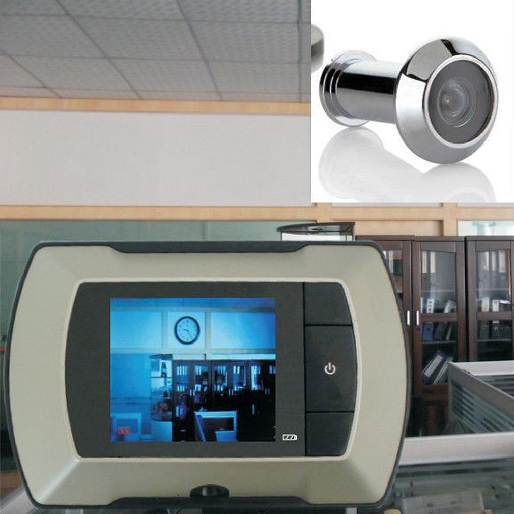 شاشة عرض LCD مقاس 2.4 بوصة ، شاشة عرض ، ثقب مفتوح ، كاميرا لاسلكية لعرض الفيديو