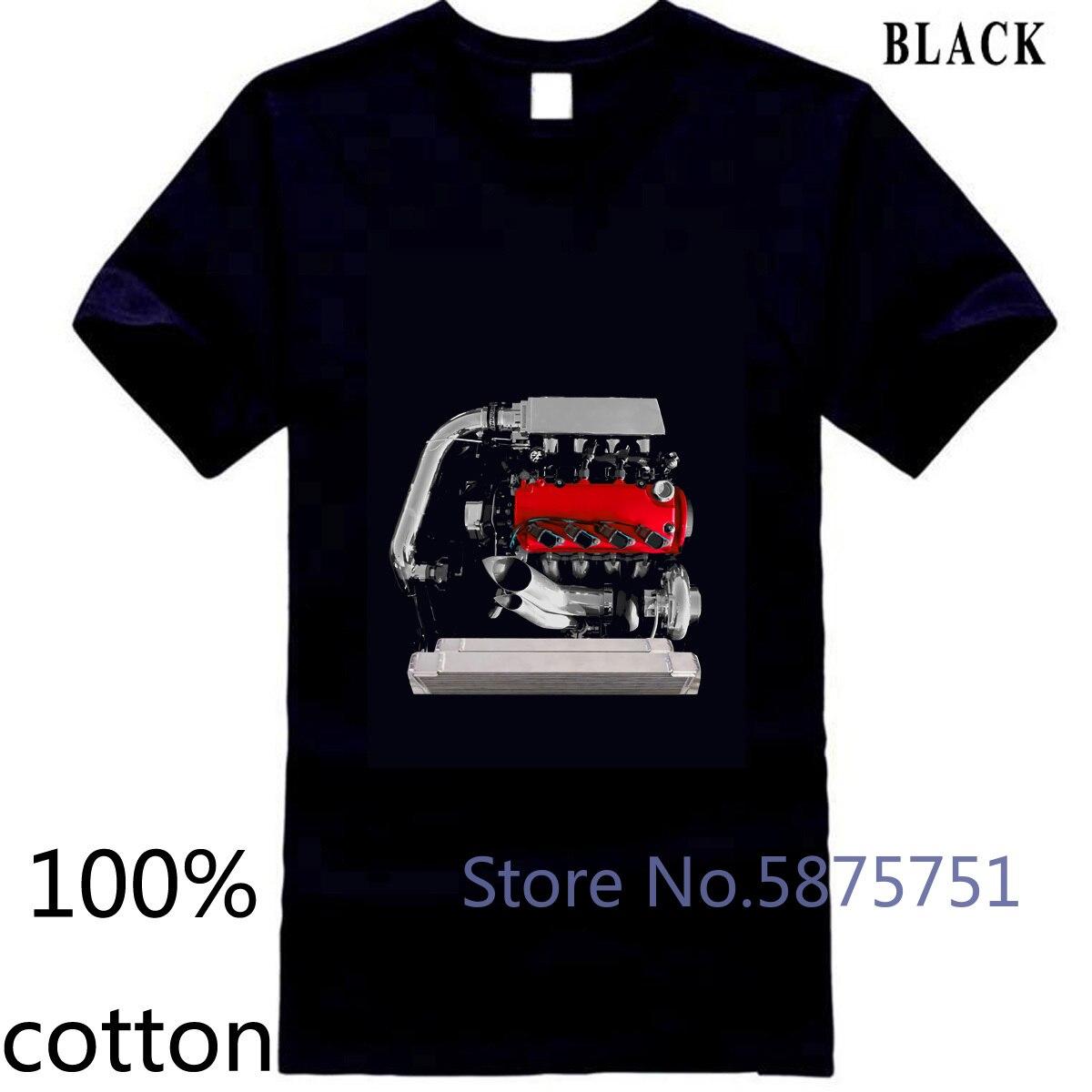 Serie D TURBO JDM D16 Motor t3t4 t4 Turbo Kit Golden Eagle colector nueva impresión de hombres camiseta tops camisetas 100% algodón