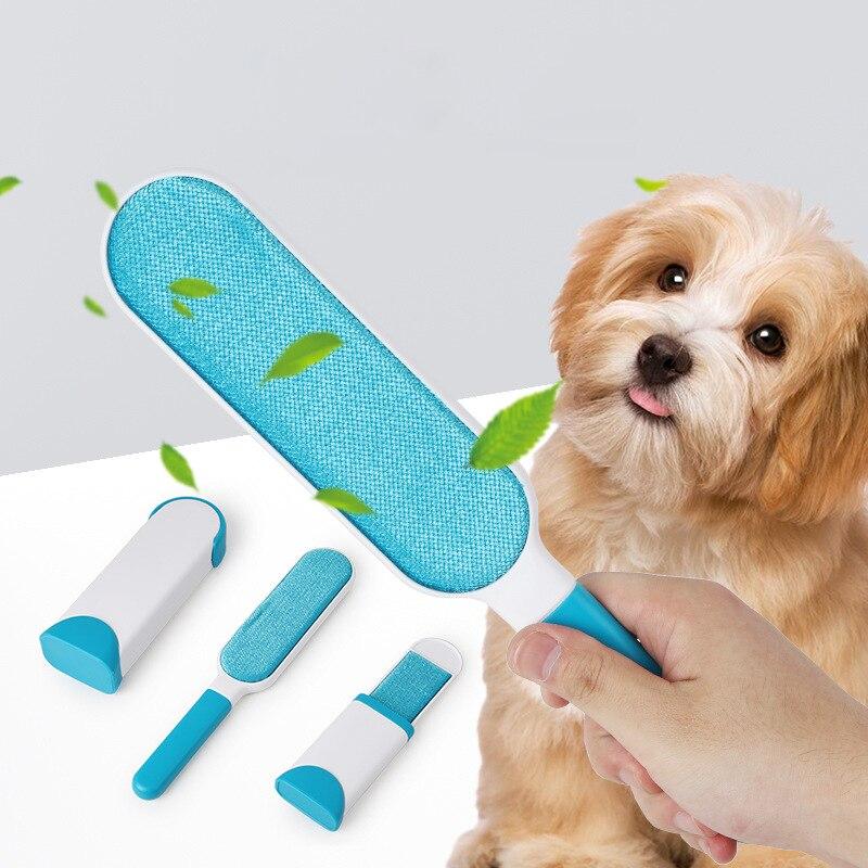 Pet Removedor de Pêlos Pincel de Maquiagem Rápida Removedor de Roupas cão Escova de Cabelo Pasta Dispositivo Escova de Limpeza ferramenta Pet Esteticista