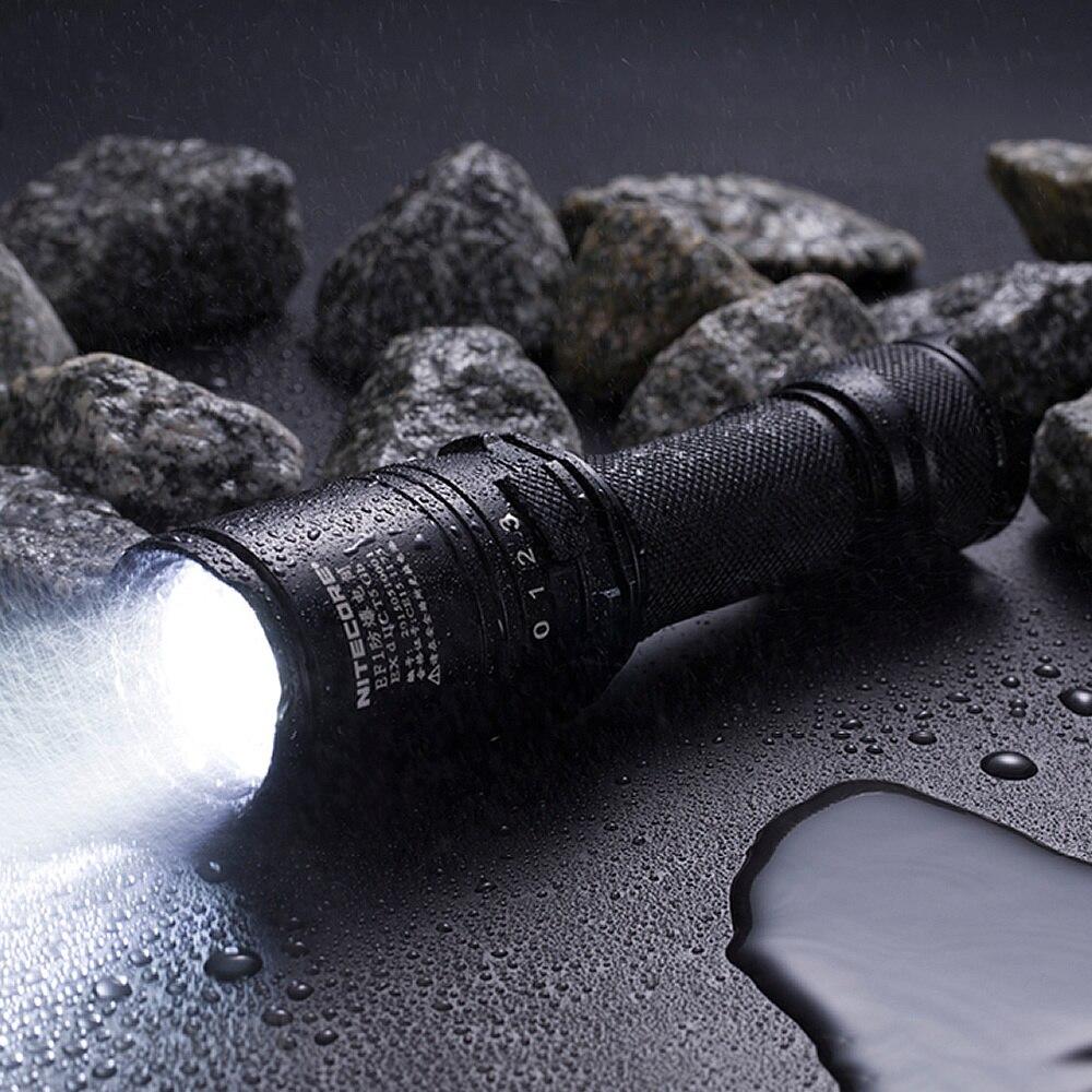 2020 NITECORE EF1 830 Lumen a prueba de explosiones LED linterna táctica ProTorch Ex D II C T5 Gb industrias peligrosas incluyendo tierra