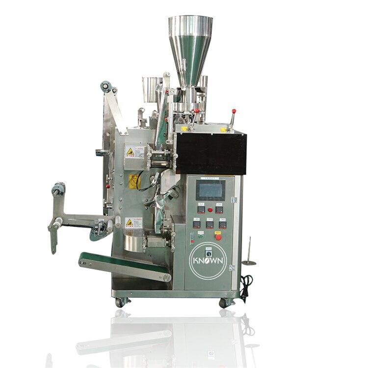 KN-THCB máquina de envasado de bolsitas de té semiautomática a la venta