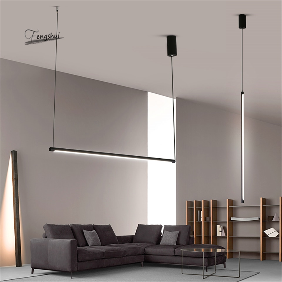 Modern LED Pendant Lights Lighting Suspended Nordic Loft Dimming Pendant Lamp Living Room Bedroom Kitchen Hanging Lamp Fixtures enlarge