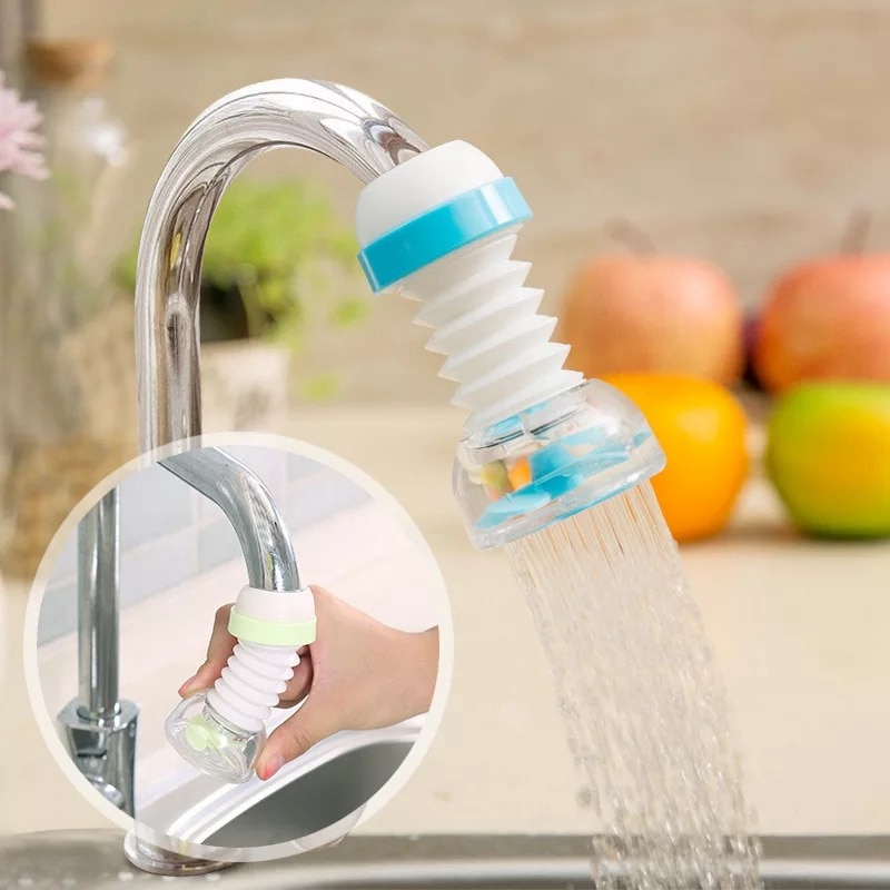 Degree Adjustable Water Tap Extension Filter Shower Water Tap Bathroom Faucet Extender Home Kitchen Accessories