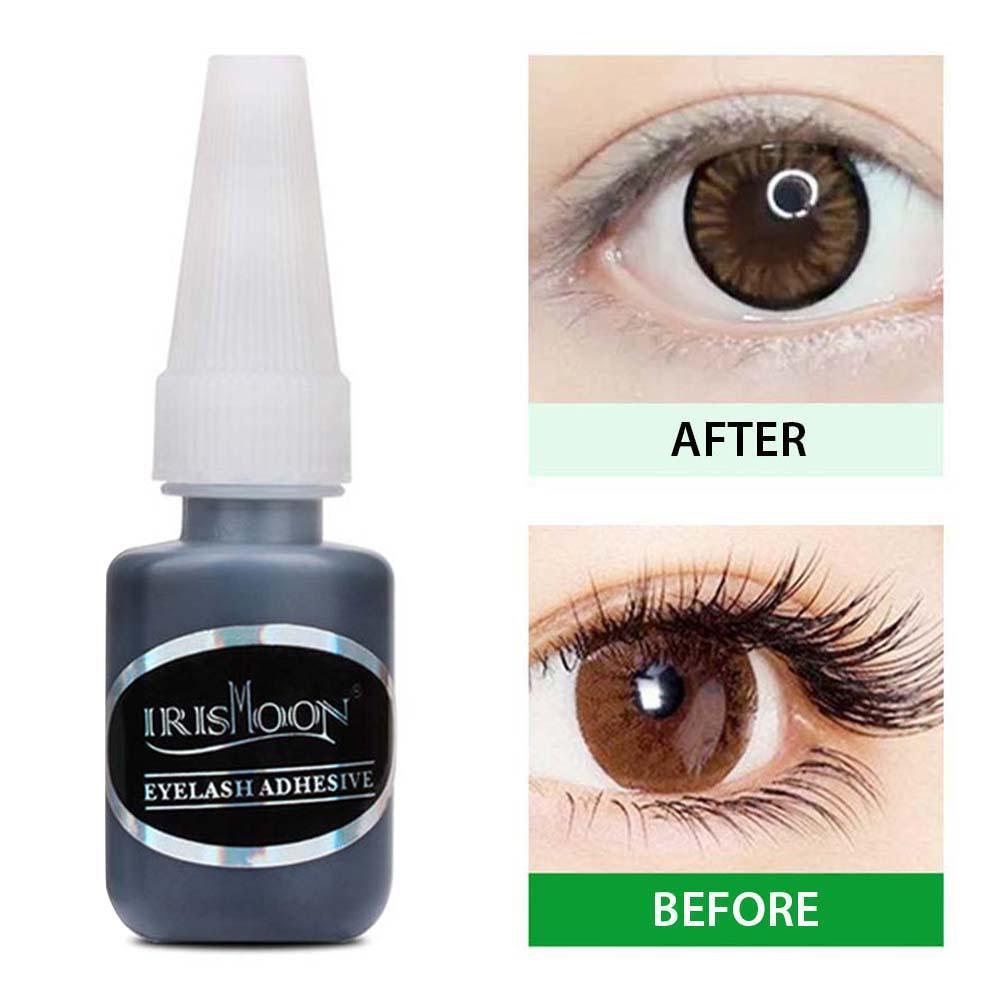5 10 15ml eyelash extension glue fast drying eyelashes glue pro lash glue black adhesive retention long last Eyelash Extension Glue Quick Drying Long Lasting Lash Glue Adhesive Supplies for Professional Beginners 15ML