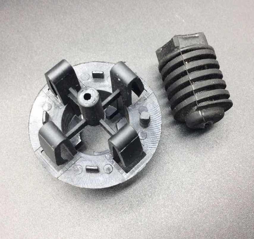 2 peças para mercedes-benz cla180 cla200 cla220 gla180 gla200 gla220 capa buffer de borracha pier 0019981440