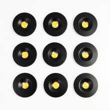 9 шт 1 Вт IP65 Мини Светодиодный точечный светильник шкаф светильник светодиодный пятна навес лестницы потолочный светильник Focos Светодиодный...