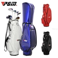 pgm golf standard bag pu leather waterproof golf bags outdoor multi functional aviation packages large capacity travel bags 2021