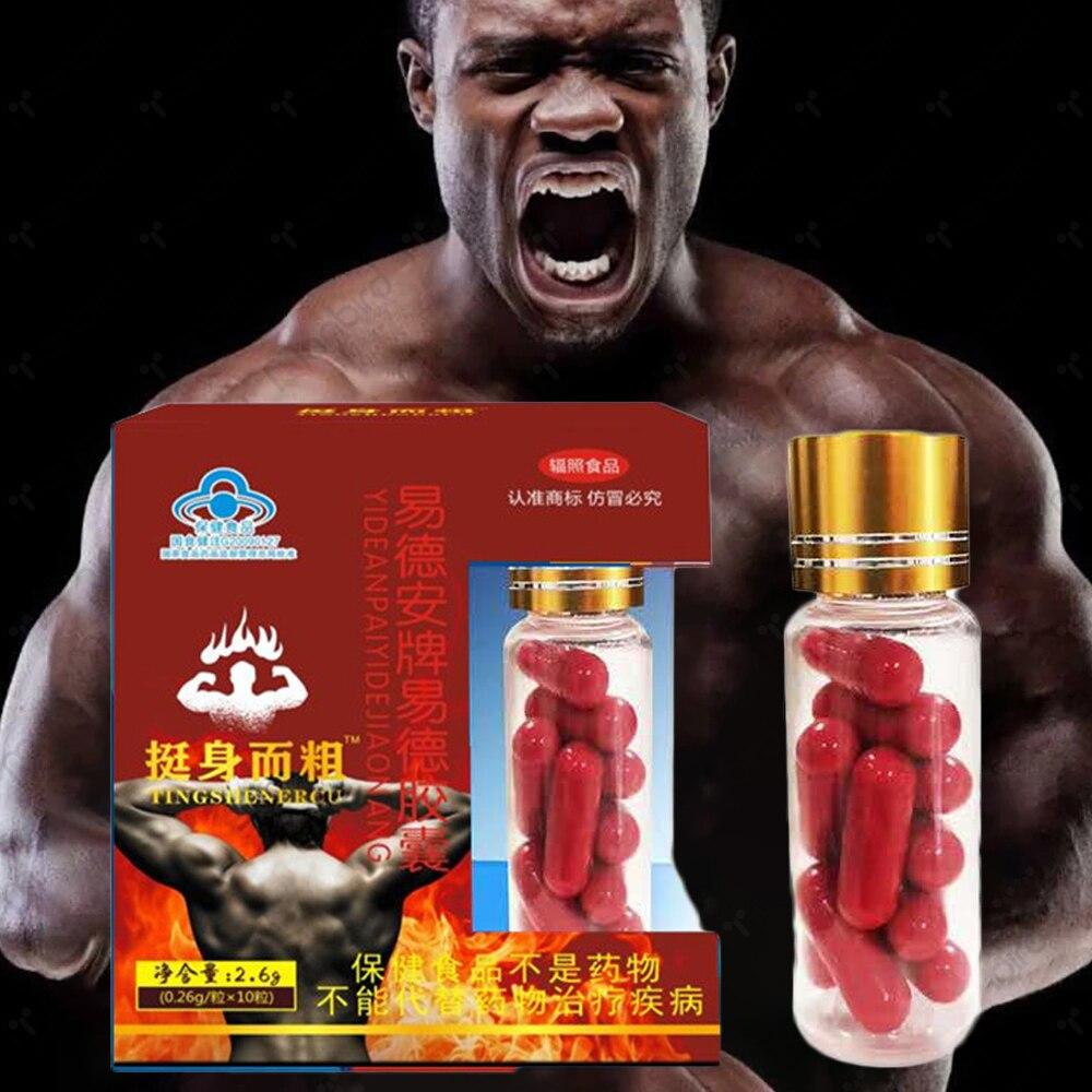 Maca Tablet Man Supplements Male Enhancement Pill Prolong Strong Erections Hard Stamina Ginseng Powder Herbal Body Health Care