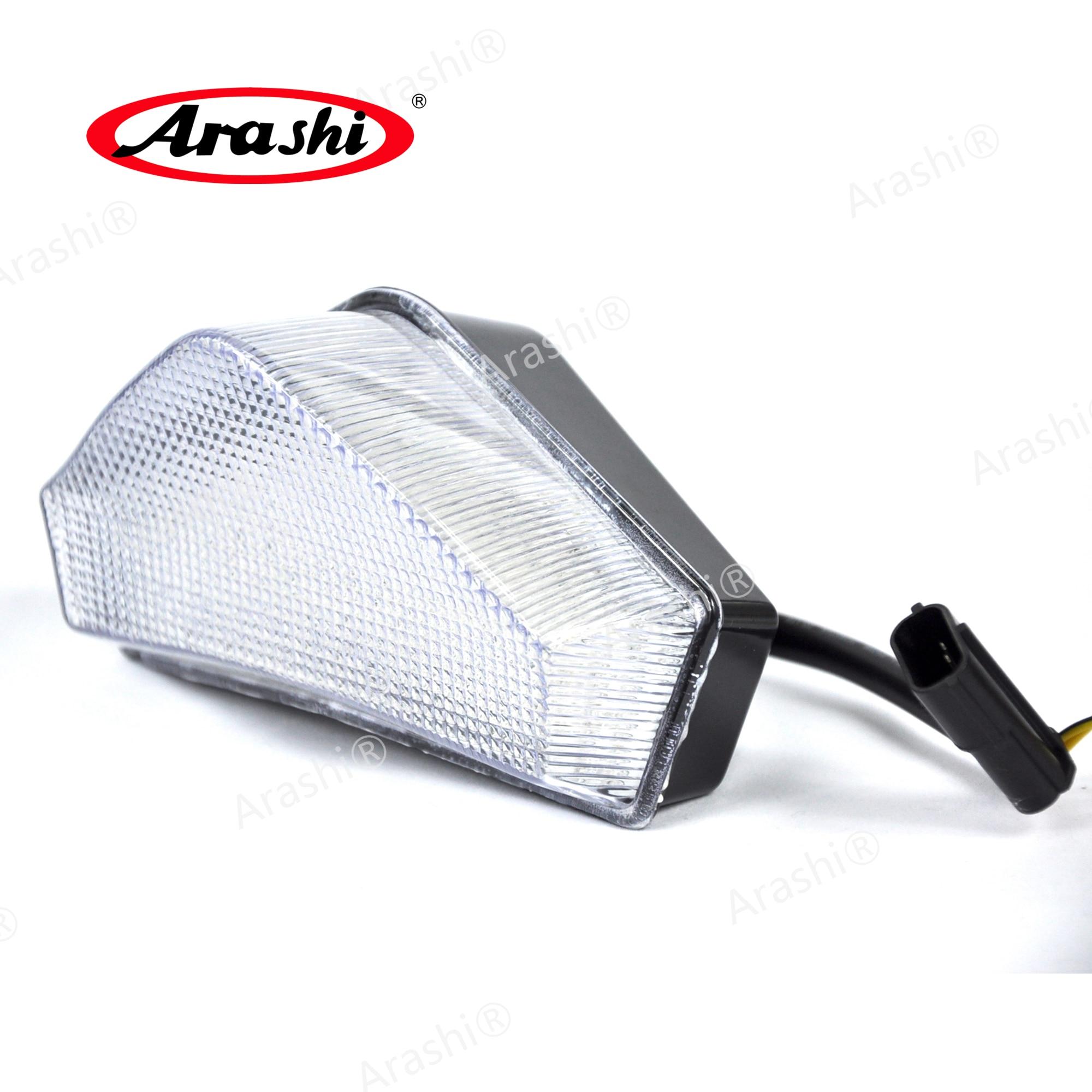 Arashi para TRIUMPH Speed Triple 2005-2007 LED integrado luz trasera de freno 2005 2006 2007 Sprint ST Tiger Luz de señal de giro