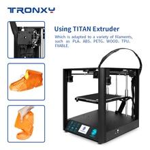 Nieuwste Corexy Structuur Tronxy D01 3D Printer Industriële Lineaire Geleiderail Stille Ontwerp Titan Extruder Hoge Precisie Afdrukken