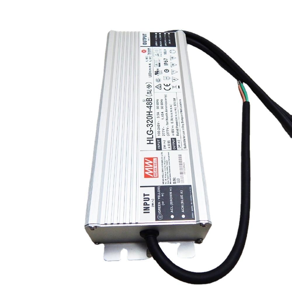 Transformer for Quantum Board Led Grow Lamp 320W 48V MeanWell Original HLG-320H-48B/AB Series IP67 300W Led Street Light Driver enlarge