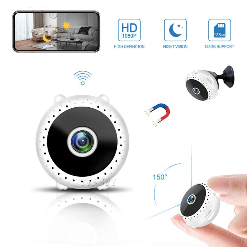 Mini cámara Wifi 1080P FHD para el hogar, videocámara secreta con visión...