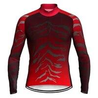 pro long cycling jersey mtb bike jacket shirt mountain race clothing sports classic for men wear road motocross ride top pocket