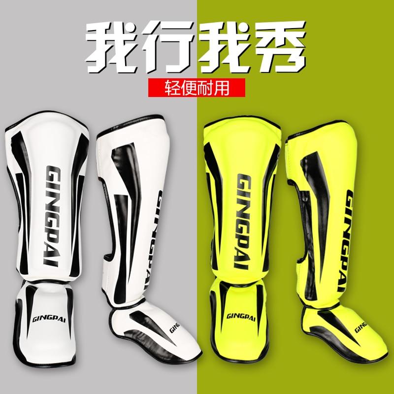 MMA shank guard foot guard Instep Kickboxing Ankle Support Boxing Taekwondo leg guard boxing muay th