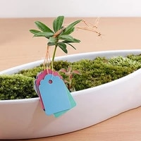 100pcsbag waterproof strip line gardening labels gardening tree signs plant hanging tags garden labels flower tags plant lab