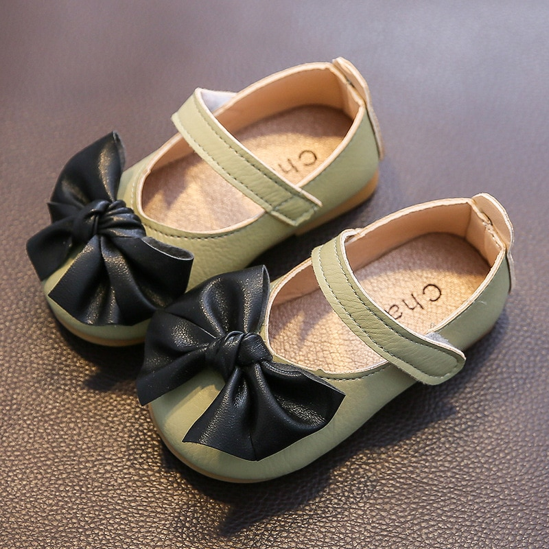 New Little Girl Princess Shoes Children Shoes Bow Lace Shoes Multicolor Optional Fashion and Comfort
