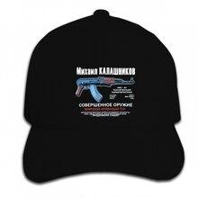 Print Custom Baseball Cap Hip Hop New ..mikhail Kalashnikov ak 47 .. Mens ! Hat Peaked cap