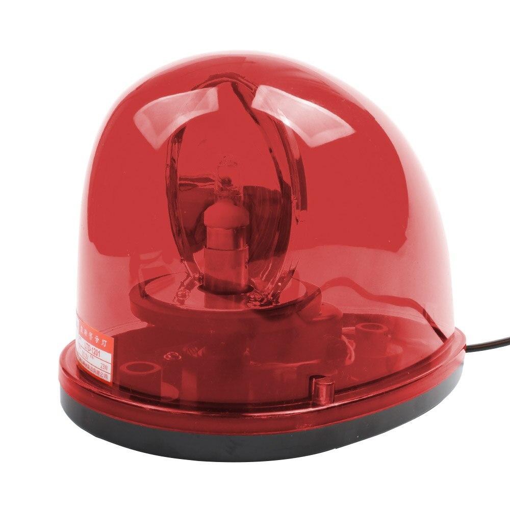 Rojo amarillo DC 12V DC 24V lámpara de Caracol giratorio policía advertencia construcción señal luz LTD-1201