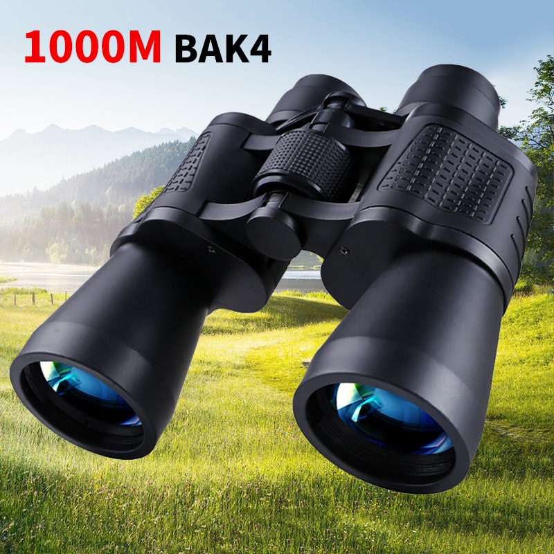 10x50 Telescopes Comet Binoculars Compact Lightweight Wild Field View BAK4 Prism Low-Light Vision fo