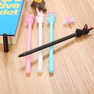 20 Pcs Pen Creative Cartoon Stationery Gel Pen Cute Student Cartoon Office Supplies Signature Pens Wholesale