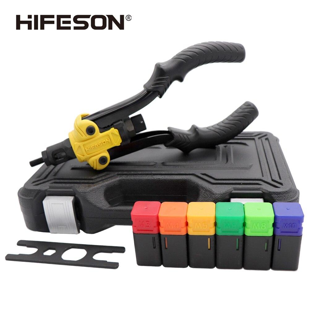 Высококачественный заклепочный гаечный пистолет HIFESON инструмент для заклепок 617