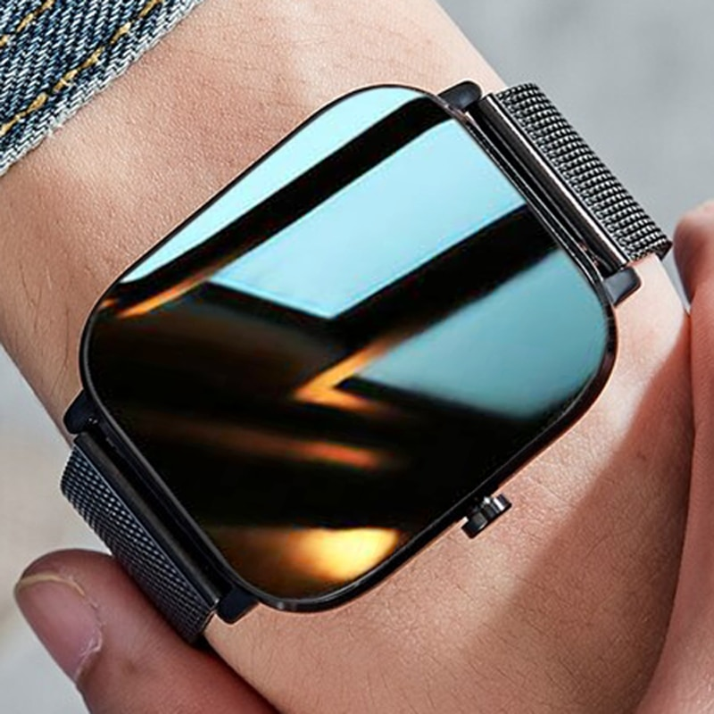 Dreamnice Smart Watch Men 2021 IP68 Bluetooth Call Smartwatch Android Smart Watch For Men Women