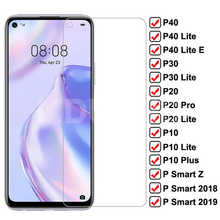 9H Anti-Burst Tempered Glass For Huawei P30 P40 Lite E Protective Screen Protector P20 Pro P10 Plus P Smart Z 2019 Glass Film