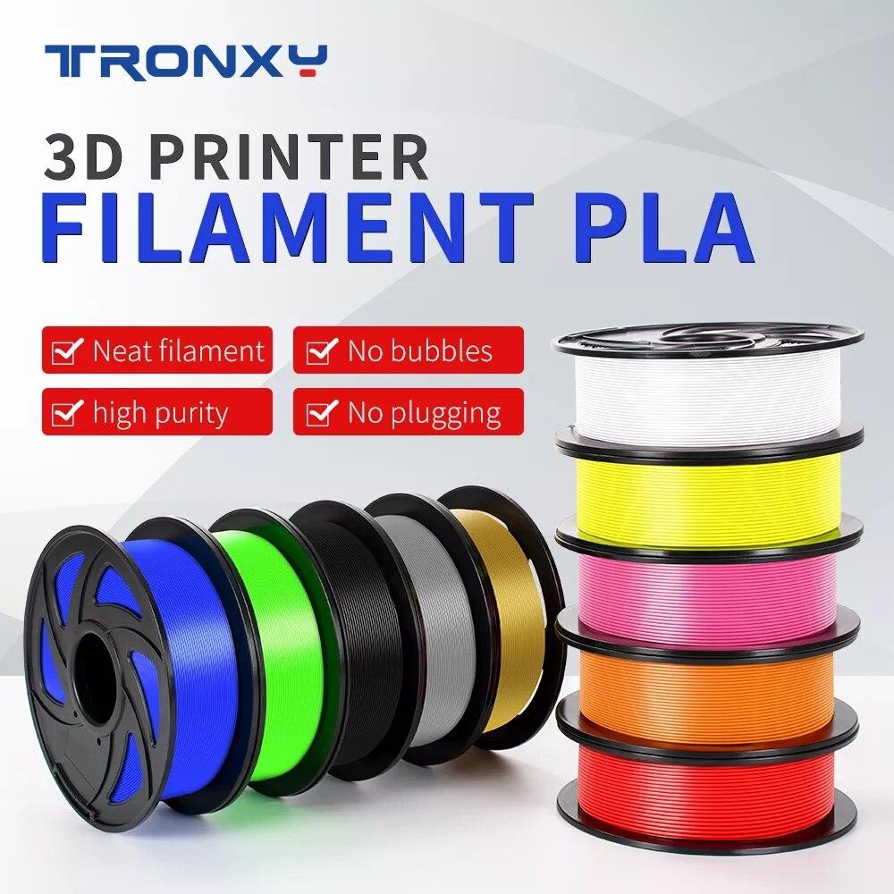 TRONXY أطول PLA طابعة ثلاثية الأبعاد خيوط الأبعاد دقة +/- 0.05 مللي متر 1 كجم بكرة 1.75 مللي متر