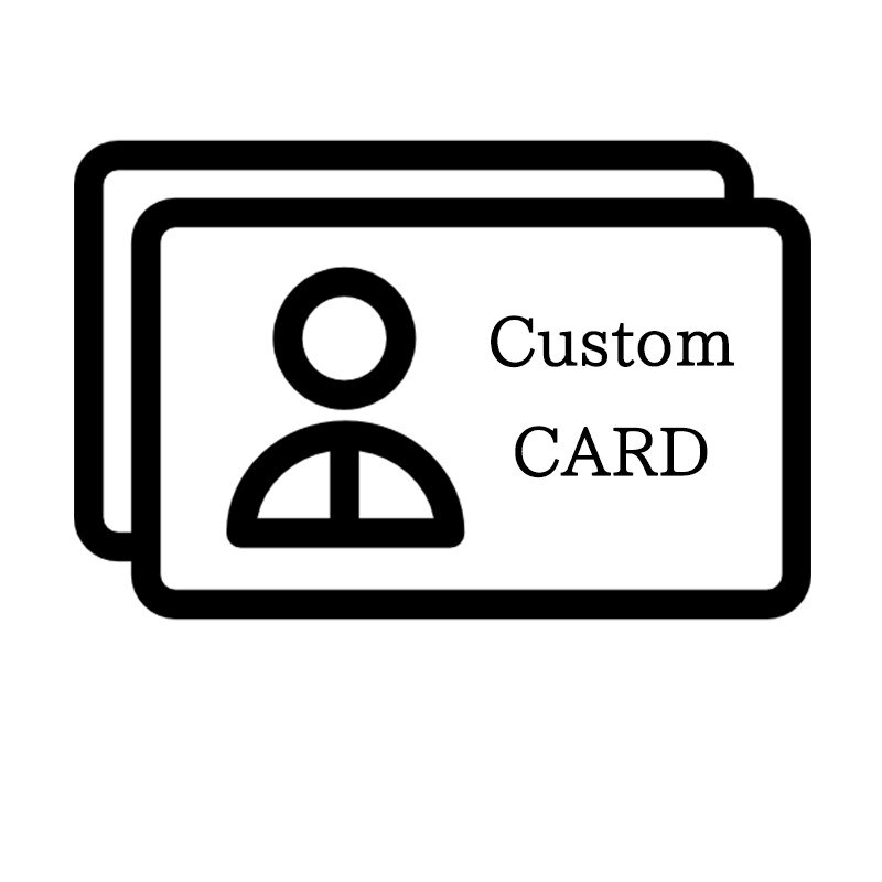 100 шт. индивидуальная визитная карточка, односторонняя белая бумага, коричневая крафт-бумага, сделай сам, собственный дизайн, бесплатная дос...