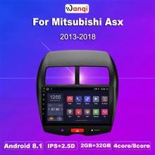 2G RAM 32G ROM 10.1 pouces Android 8.1 pour Mitsubishi ASX (2013-2015) voiture DVD GPS Navigation système multimédia