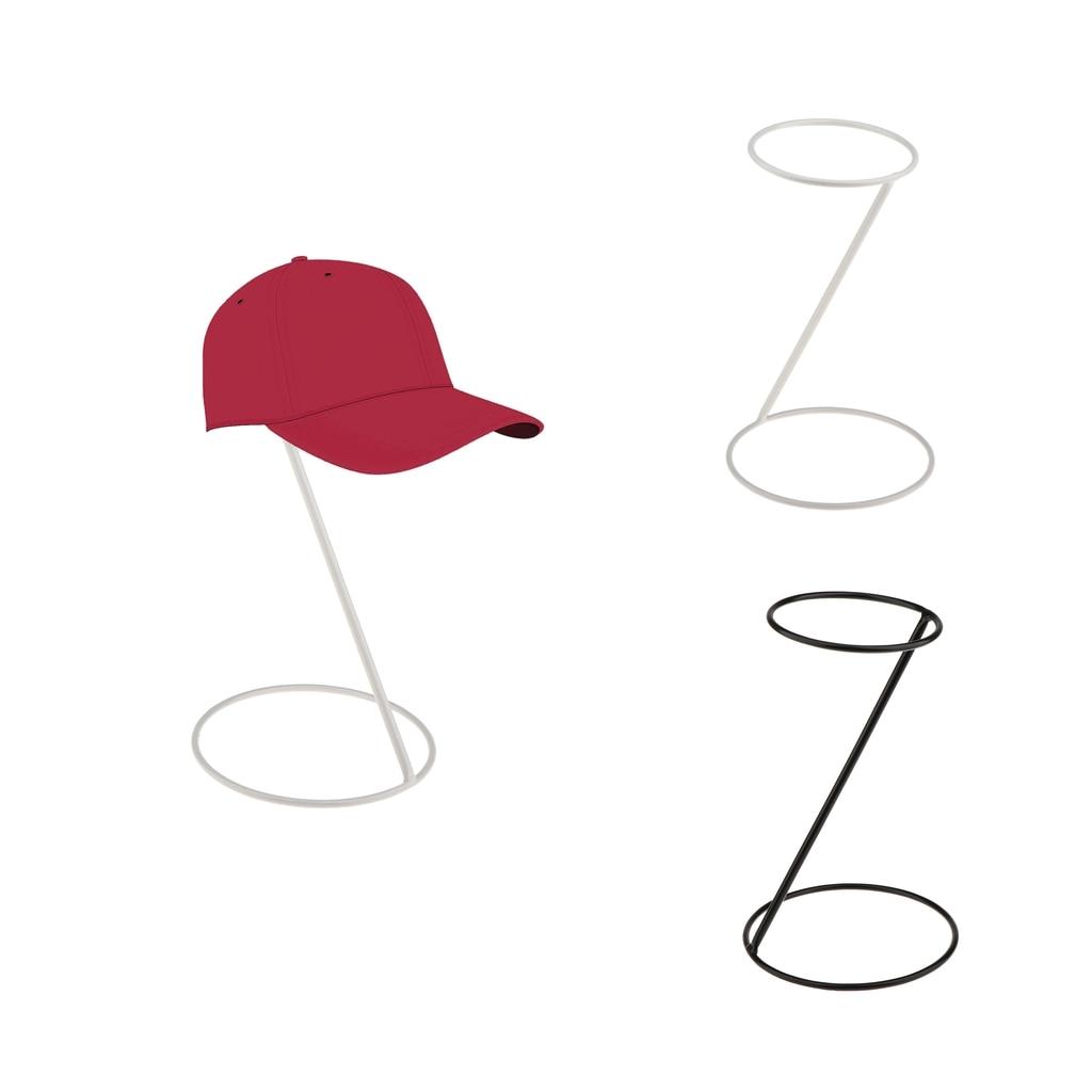 2 uds soporte de exhibición de sombrero independiente gorra de béisbol deportes soporte de almacenamiento
