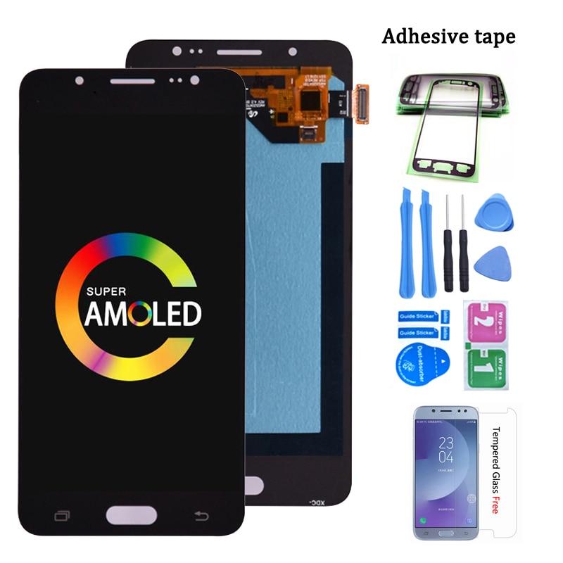 Супер AMOLED для Samsung Galaxy J5 2016 j510 ЖК-дисплей кодирующий преобразователь сенсорного экрана в сборе для J510FN J510F J510G J510Y J510M