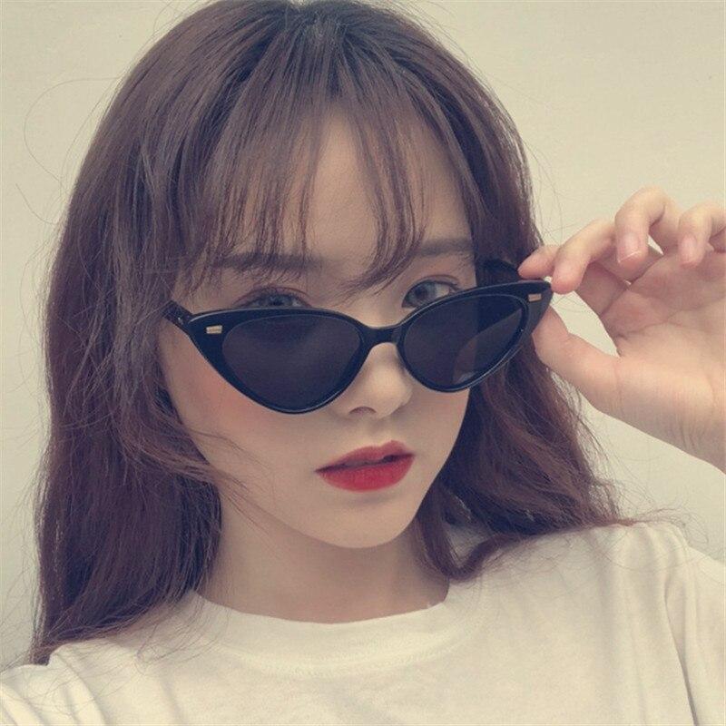 Triangle Cat Eye Vintage Women Sunglasses Gradient Eyewear Sexy Lady Sun Glasses Eyeglasses Shade Oc