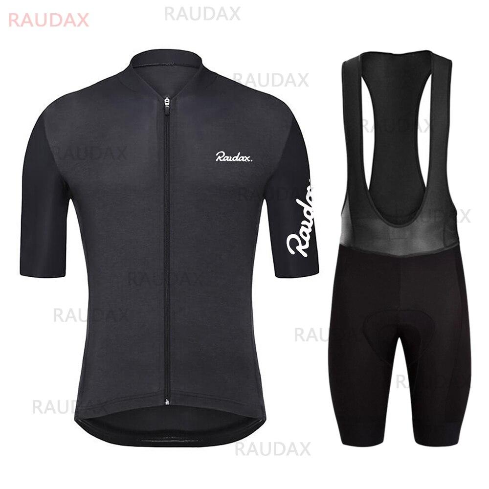 Raudax-camisetas de Ciclismo transpirables para hombre, traje de equipo de Ciclismo Profesional...
