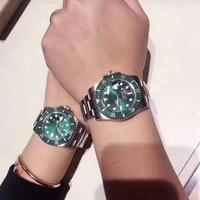 Green Water Ghost men\'s watch automatic mechanical watch steel belt watch luminous watch men\'s Watch