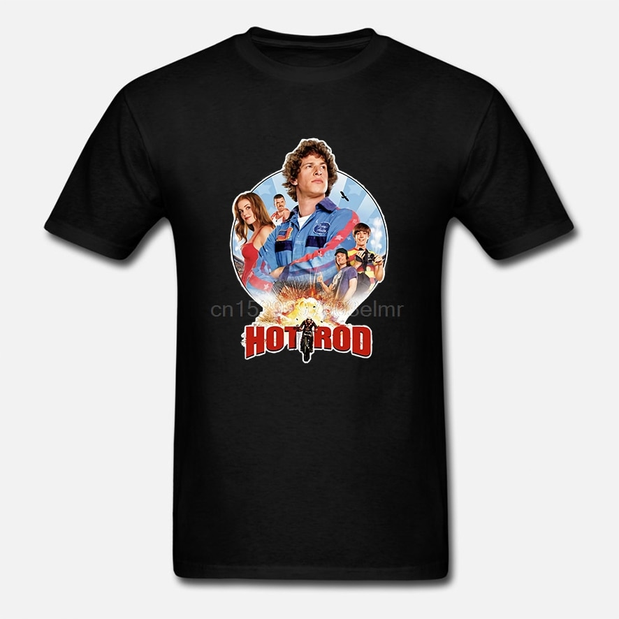 Camiseta de varilla caliente niño joven adulto Andy Samberg