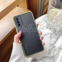 Luxury Translucent Soft Case For Oppo Realme Q3 Pro 5G Shockproof Back Cover For Realme Q3 Pro 5G Ca