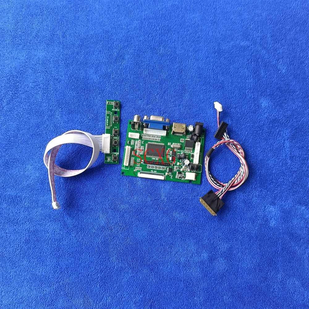 عدة 40 دبوس LVDS HDMI متوافق AV VGA 1366*768 WLED 60Hz دفتر ل B133XW03/B133XW04/B133XW07 LCD مصفوفة تحكم المجلس