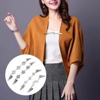 sweater shawl blouse collar scarf clasp brooch pin jewelry women retro vintage cardigan duck clip pin accessories