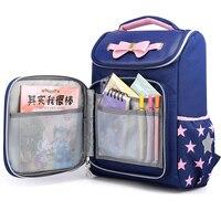 2020 Cute School Bags For Girls Boys Cartoon Backpack Children Orthopedic Backpacks Large Kids Bag Bow mochila escolar Grade 3-5
