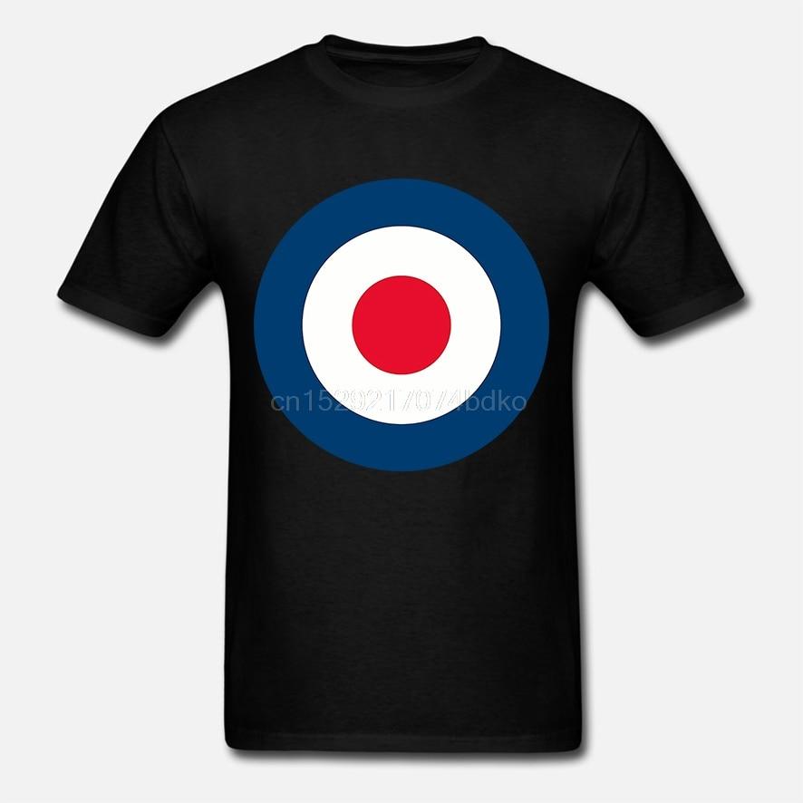 Raf Roundel Mod camiseta Vespa motos Ka Punk nueva moda para hombre tapas Cool O cuello camiseta gráfico camisetas