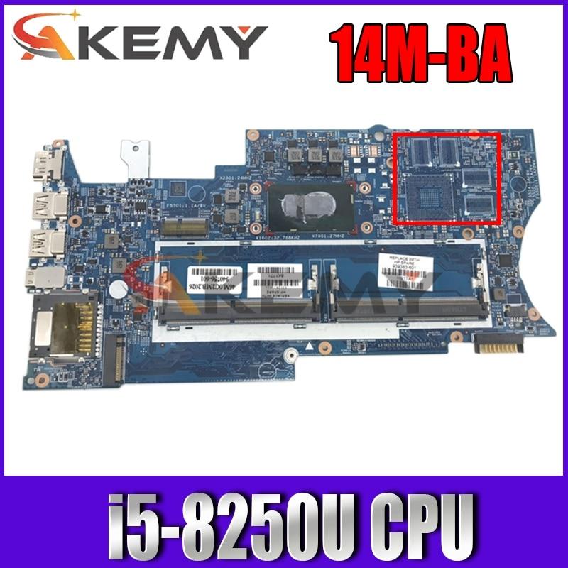 الأصلي 448.0BZ09.0011 ل HP X360 14M-BA 14-BA اللوحة المحمول i5-8250U DDR4 939383-601 940756-001 100% اختبار سليمة
