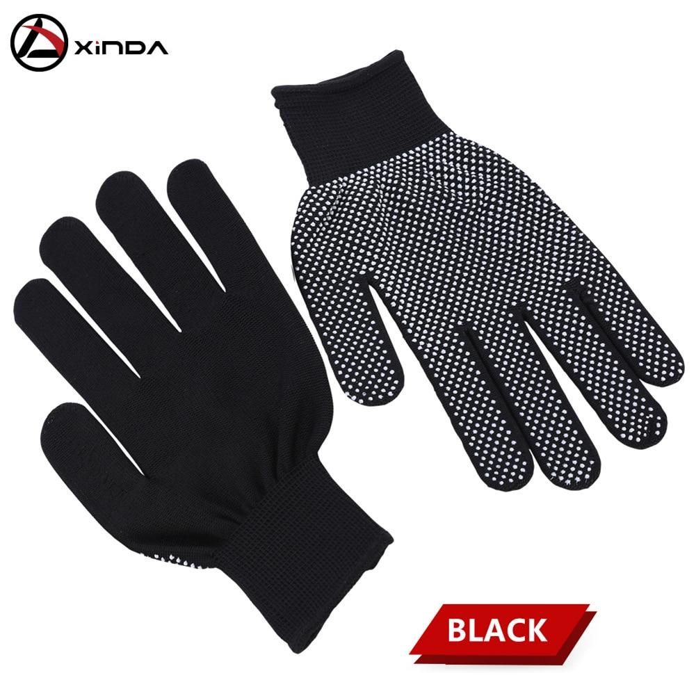 Защитные Нескользящие латексные перчатки, черные уличные Нескользящие, альпинизм, спуск, для альпинизма