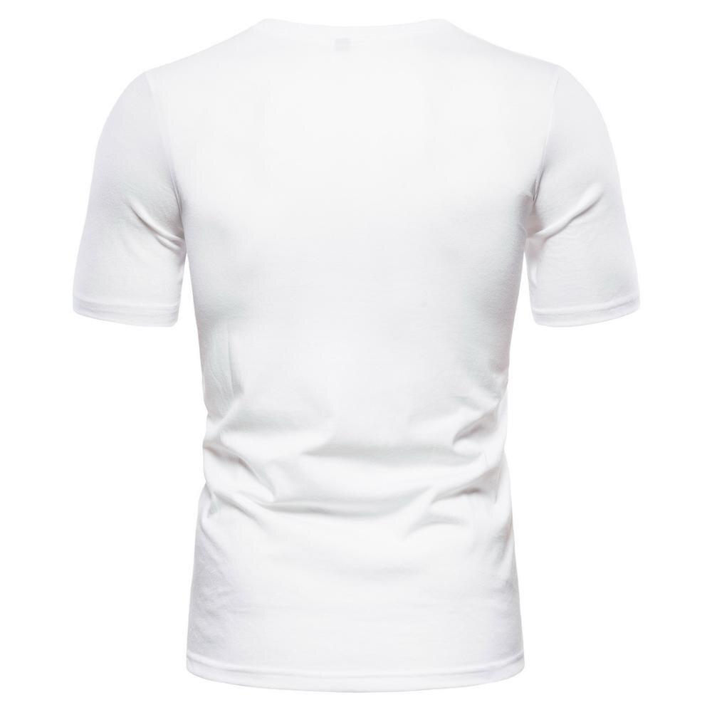 Short Sleeve Men T Shirts Bird Printed Cotton Casual Man T Shirt