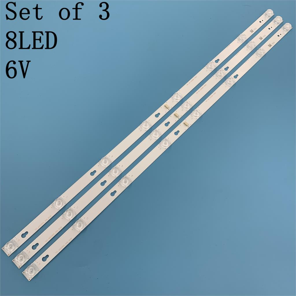 30PCS LED backlight strip for Toshiba L40F3301B 40A730U 40l2600 L40D2900F TCL F40S5916 40S305 TOT_40D2900 40HR330M08A6 V8