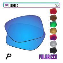 EZReplace Polarized Replacement Lenses for - Oakley Turbine Sunglasses - Multiple Options